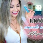 Tutorial: ampola azul semi di lino Alfaparf/ como usar em cabelos secos