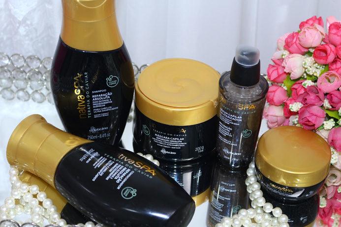 Resenha: Terapia do caviar O Boticario Nativa Spa/ linha completa