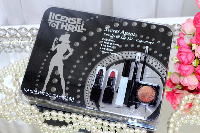 Ombré lips com kit secret Agent Espionage: passo a passo