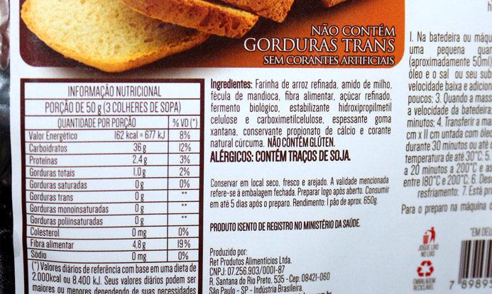 Pão caseiro sem glúten Nutri Pleno/ na cozinha