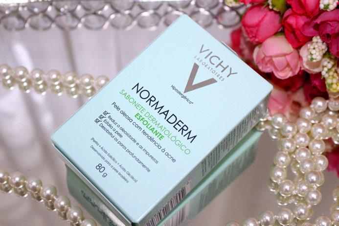 Resenha: sabonete dermatológico Normaderm esfoliante Vichy