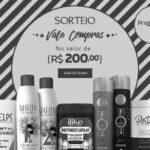Resultado: vencedora do vale de 200 reais em compras