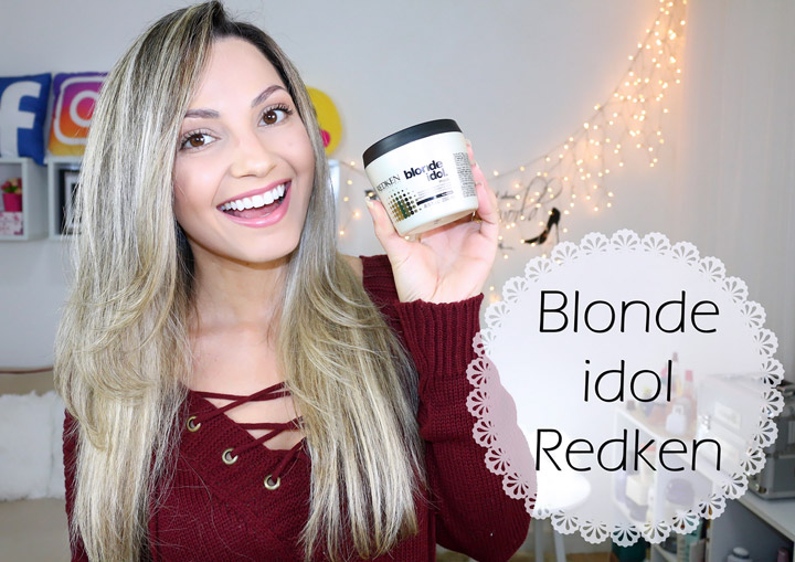 Resenha: Redken Blond Idol máscara/ post + vídeo