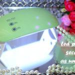 Secador portátil de led para unhas/ câmara de secagem AliExpress