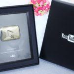 Recebidos e comprinhas + minha placa de 100k do youtube