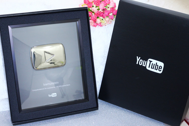 placa 100k youtube