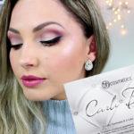 Make com a paleta Carli Bybel AliExpress/ vídeo e post
