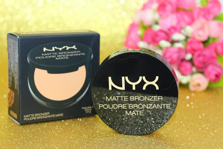 Resenha: Matte bronzer NYX medium