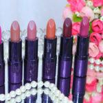 Batons mate Eudora kiss me edição limitada: 6 cores fotos e vídeo