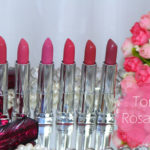 Batons Colorsensational Maybelline: rosas e rosados