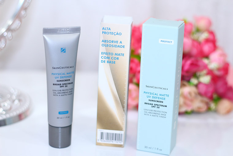 Resenha: Physical matte UV defense SkinCeuticals -protetor com cor de base-
