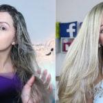 Escova em cabelos danificados e elásticos
