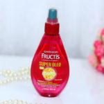 Resenha: Super óleo Fructis apaga danos Garnier