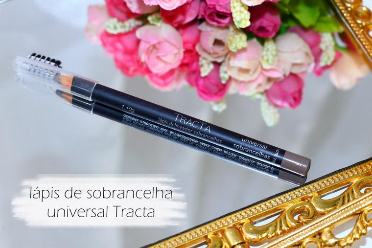 Resenha: lápis delineador de sobrancelhas universal Tracta