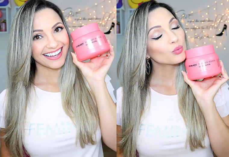Resenha: máscara Eva NYC therapy session hair mask