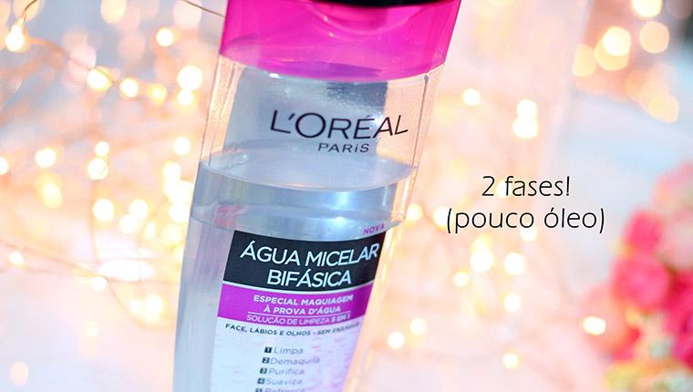 Resenha: água Micelar bifásica Loreal