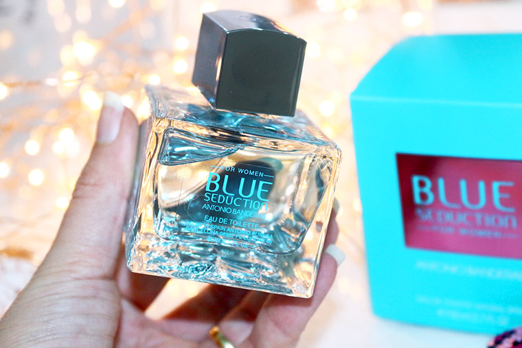 42a4e46f7 Resenha  Blue Seduction for Woman Antonio Banderas perfumeEu vou de ...