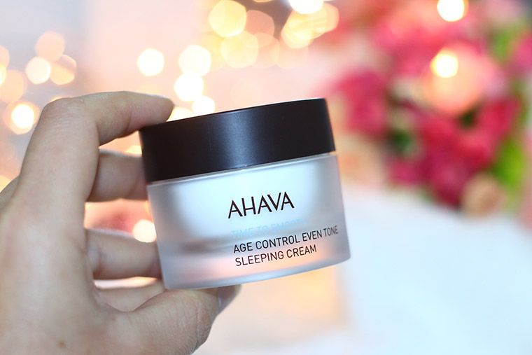 Resenha: Ahava Time To Smooth Sleeping Cream Age Control Even Tone - Creme Anti-Idade Noturno