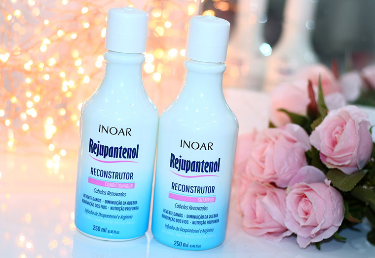 Resenha: Rejupantenol Inoar | shampoo e condicionador