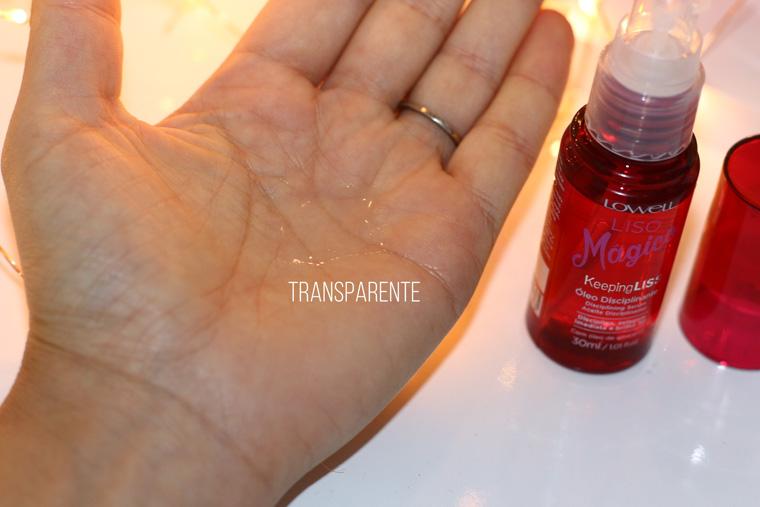 Resenha: Liso mágico Lowell | óleo disciplinante Keeping liss