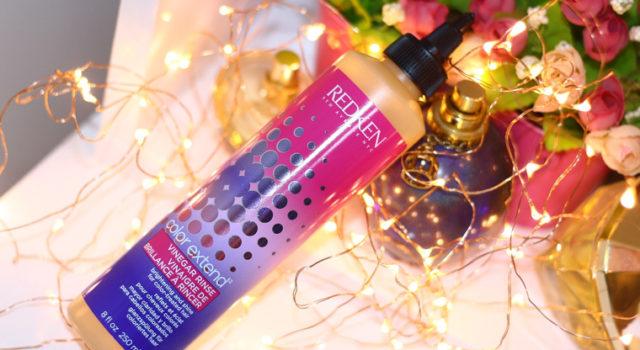 Resenha: acidificante Redken Vinegar Rinse Color Extend