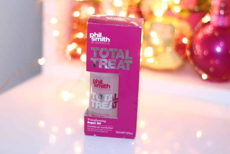 Resenha: protetor térmico Total Treat Phil Smith Transforming Argan Oil